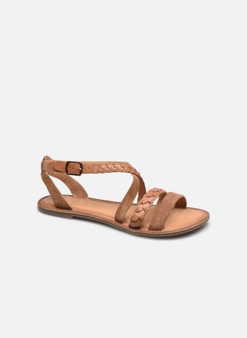 Sandales et nu-pieds Kickers DIAPPO Marron vue détail/paire