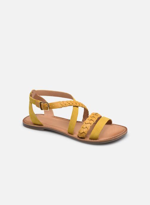 Sandalen Kickers DIAPPO gelb detaillierte ansicht/modell