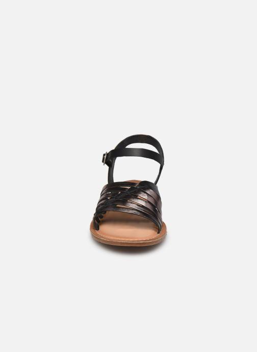 Sandales et nu-pieds Kickers ETCETERA Noir vue portées chaussures