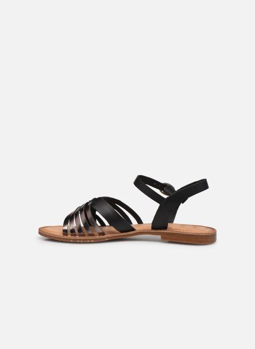 Sandales et nu-pieds Kickers ETCETERA Noir vue face