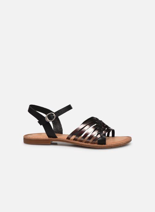 Sandales et nu-pieds Kickers ETCETERA Noir vue derrière