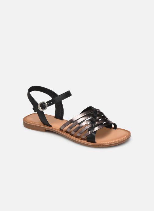 Sandales et nu-pieds Kickers ETCETERA Noir vue détail/paire