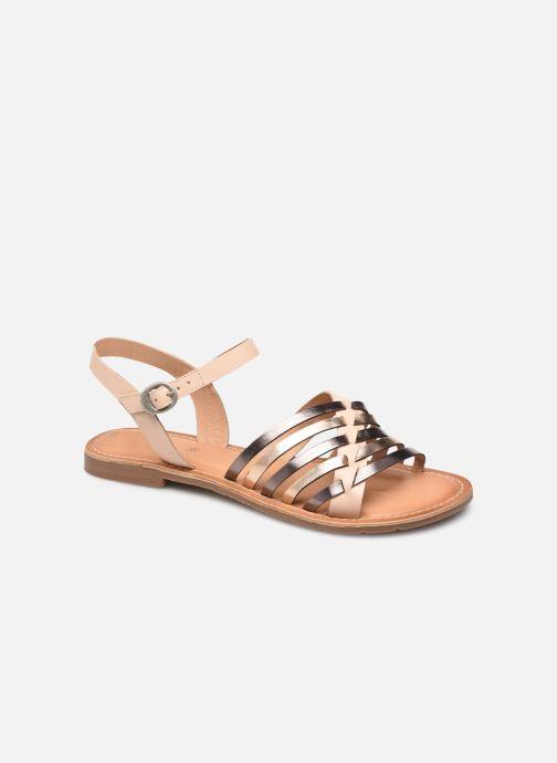 Sandales et nu-pieds Kickers ETCETERA Rose vue détail/paire