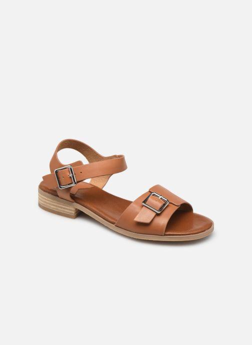 Sandalen Kickers BUCIDI braun detaillierte ansicht/modell