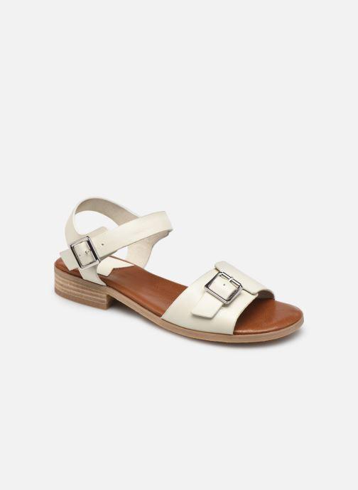Sandalen Kickers BUCIDI weiß detaillierte ansicht/modell