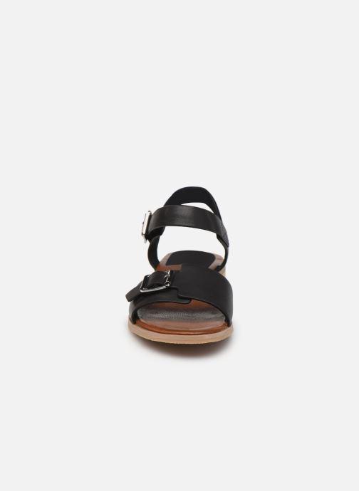 Sandales et nu-pieds Kickers BUCIDI Noir vue portées chaussures