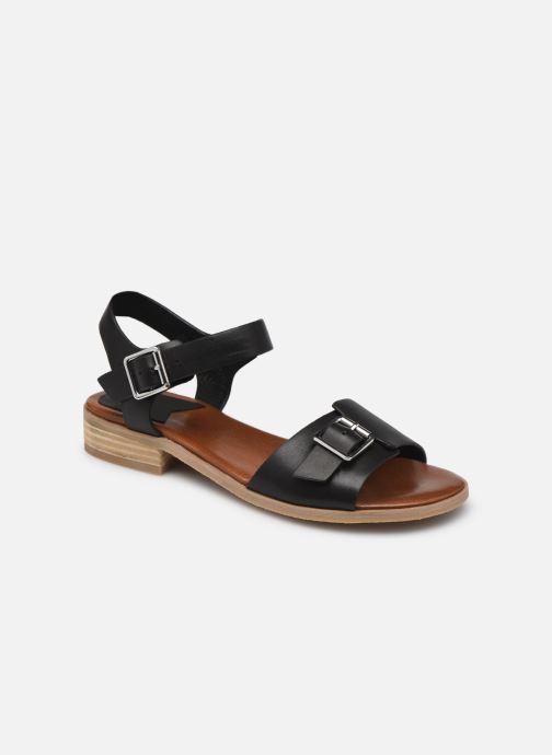 Sandales et nu-pieds Kickers BUCIDI Noir vue détail/paire