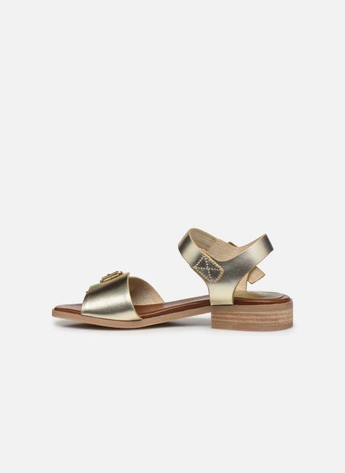 Sandalen Kickers BUCIDI gold/bronze ansicht von vorne