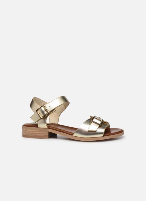 Sandalen Kickers BUCIDI gold/bronze ansicht von hinten