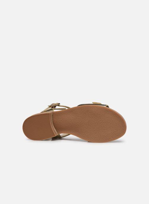 Sandalen Kickers BUCIDI gold/bronze ansicht von oben