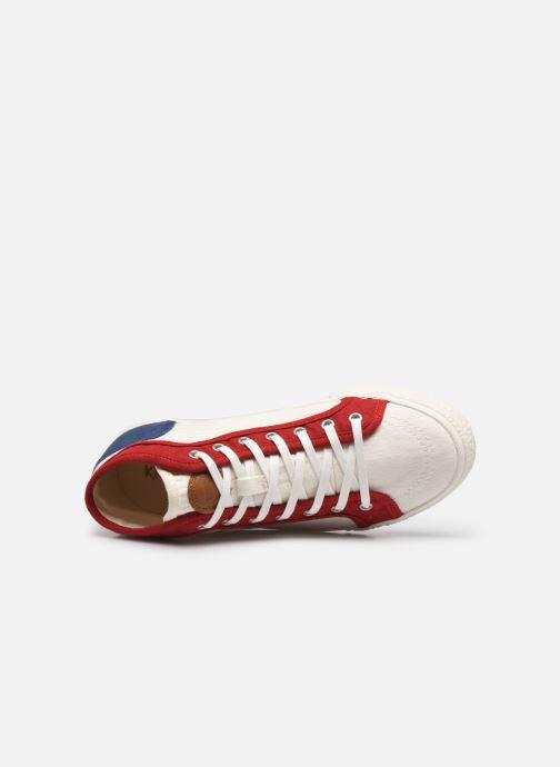 Sneaker Kickers ARVEILER F weiß ansicht von links