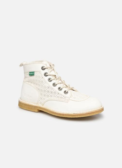 Bottines et boots Kickers OJIKAR Blanc vue détail/paire