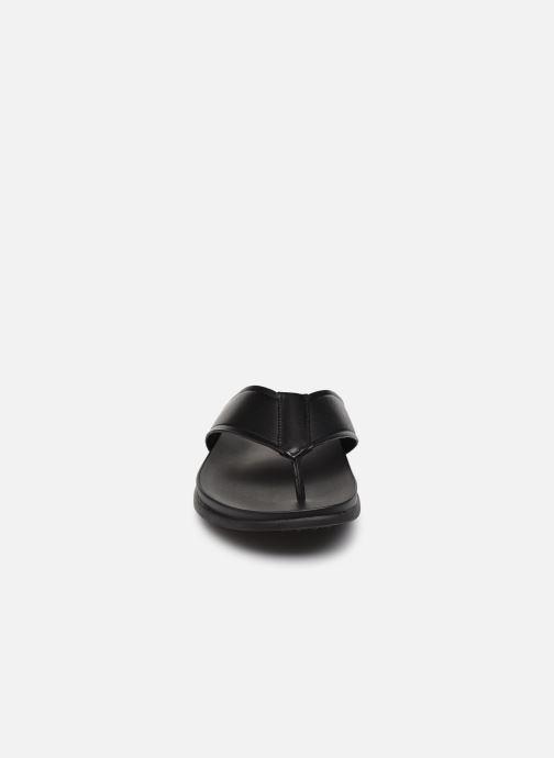 Zehensandalen Aldo AFUTHIEN schwarz schuhe getragen