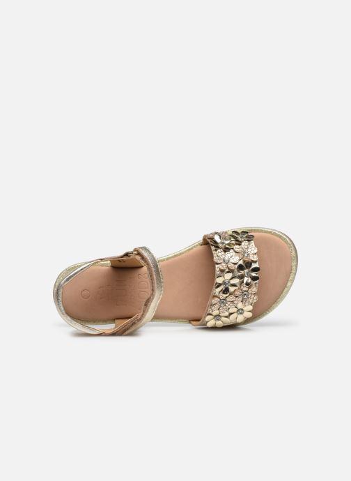Sandalen Mod8 Parlotte gold/bronze ansicht von links