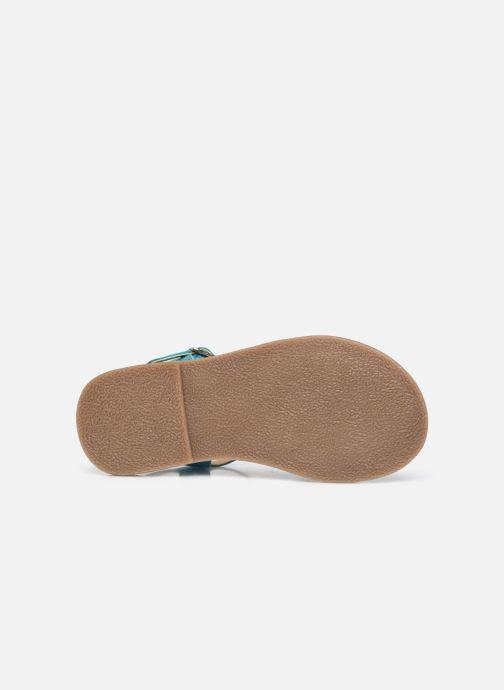 Sandalen Mod8 Calicot silber ansicht von oben