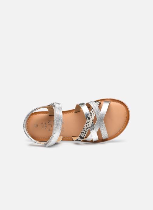 Sandaler Mod8 Canila Sølv se fra venstre