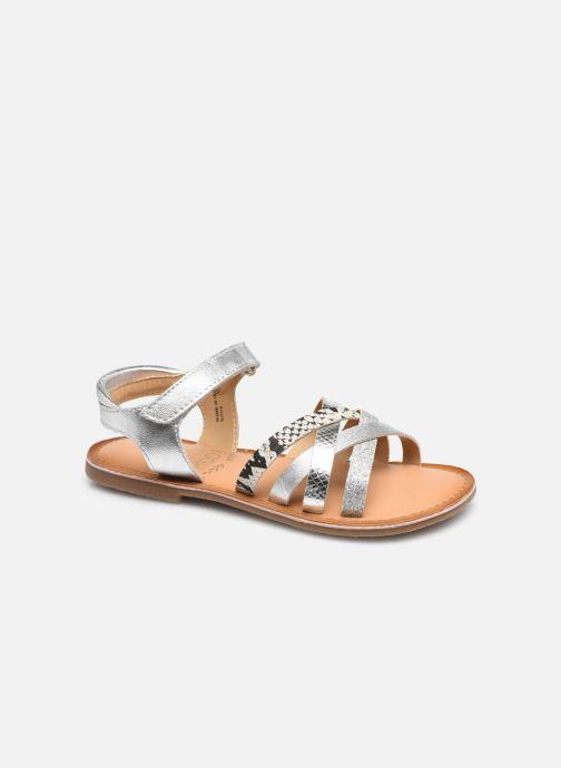 Sandaler Mod8 Canila Sølv detaljeret billede af skoene