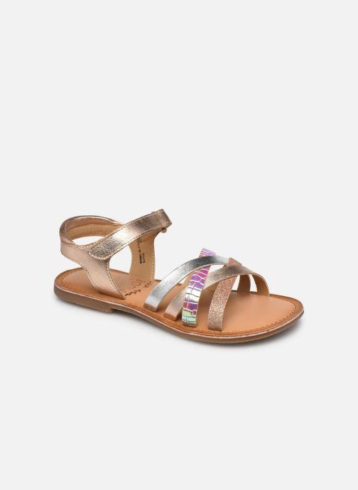 Sandales et nu-pieds Mod8 Canila Argent vue détail/paire