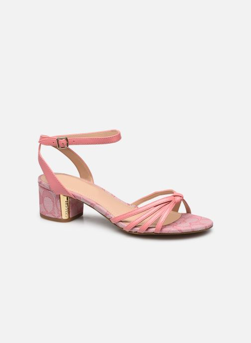 Sandales - Elouise Leather-Jacquard Sandal
