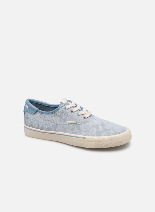 Sneaker Coach Citysole Skate Jacquard blau detaillierte ansicht/modell