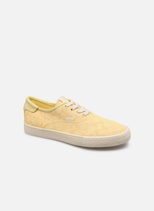 Sneaker Coach Citysole Skate Jacquard gelb detaillierte ansicht/modell