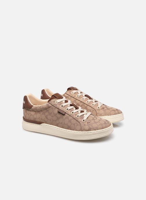 Sneaker Coach Lowline Jacquard braun 3 von 4 ansichten