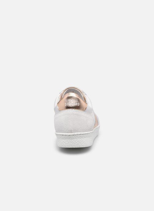Sneakers National Standard W06-21S Bianco immagine destra
