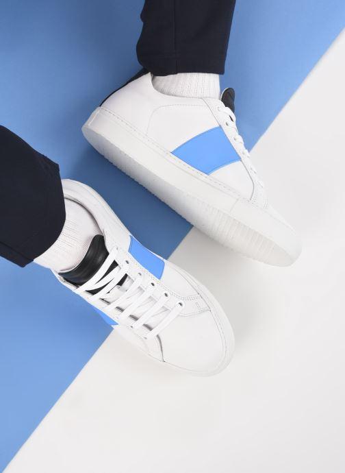 Sneakers National Standard M04-21S Wit onder