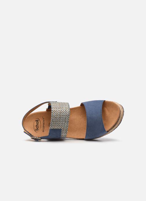 Sandali e scarpe aperte Scholl Elena Azzurro immagine sinistra