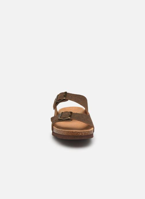 Sandali e scarpe aperte Scholl Gerry Marrone modello indossato