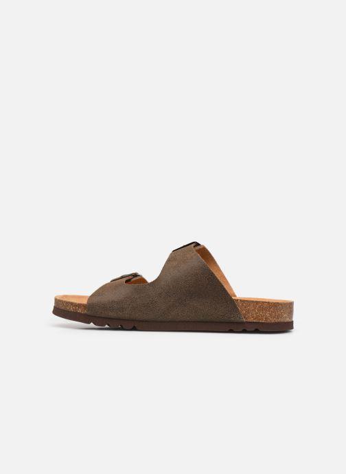 Sandali e scarpe aperte Scholl Gerry Marrone immagine frontale