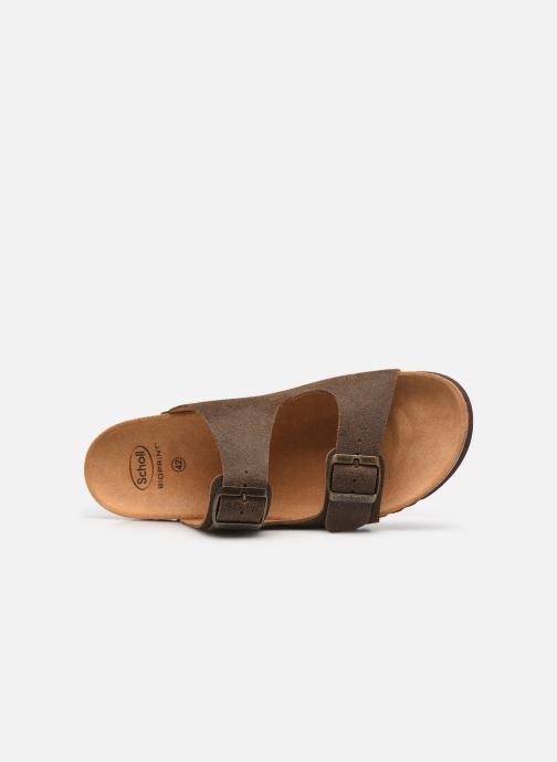 Sandali e scarpe aperte Scholl Gerry Marrone immagine sinistra