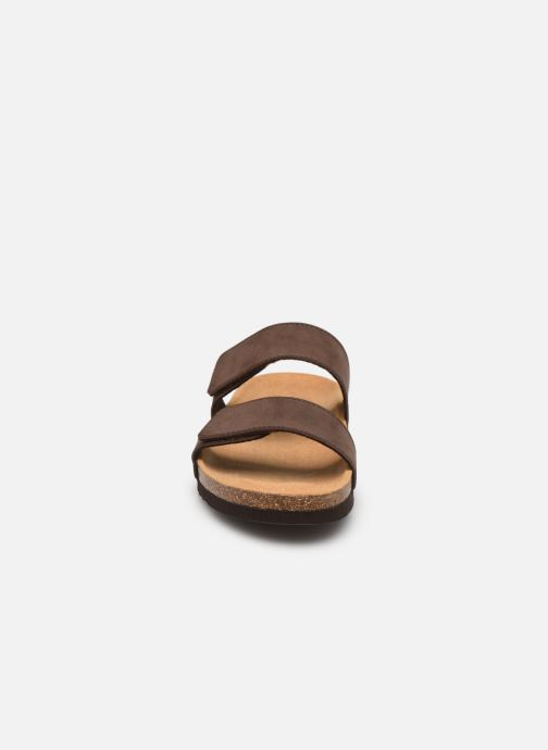 Sandali e scarpe aperte Scholl Tymeg Marrone modello indossato