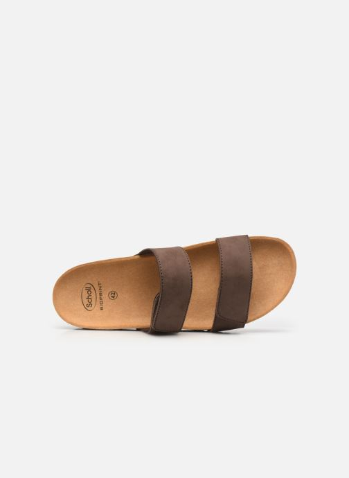Sandali e scarpe aperte Scholl Tymeg Marrone immagine sinistra