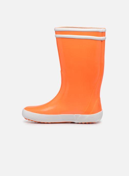 Stiefel Aigle Lolly Pop Neon orange ansicht von vorne
