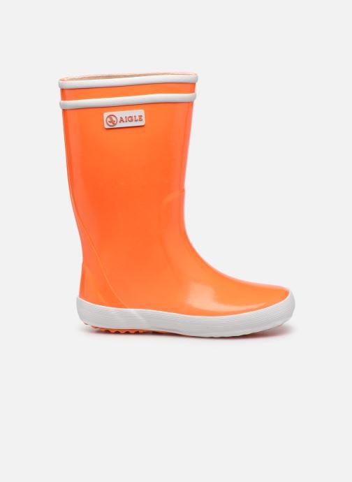 Stiefel Aigle Lolly Pop Neon orange ansicht von hinten