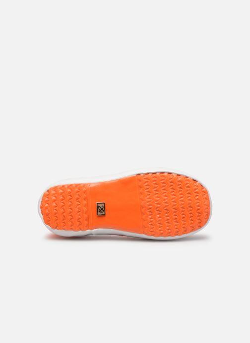 Stiefel Aigle Lolly Pop Neon orange ansicht von oben