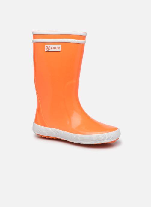 Laarzen Aigle Lolly Pop Neon Oranje detail