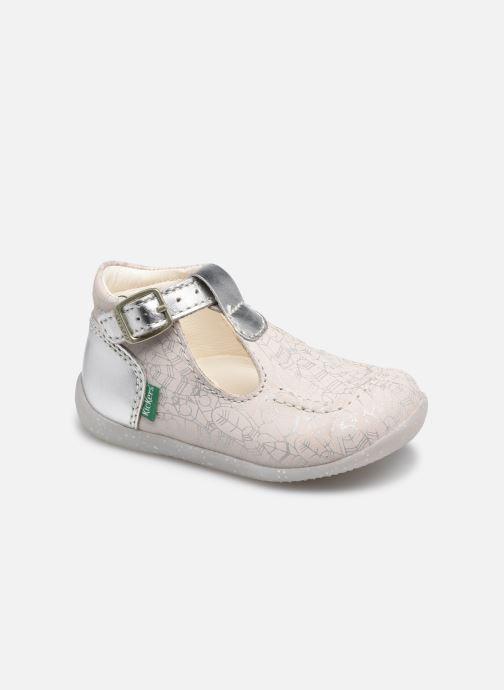 Sandales et nu-pieds Kickers Bonbek-2 Argent vue détail/paire