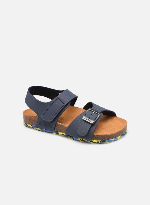 Sandalen Kickers Sunkro blau detaillierte ansicht/modell