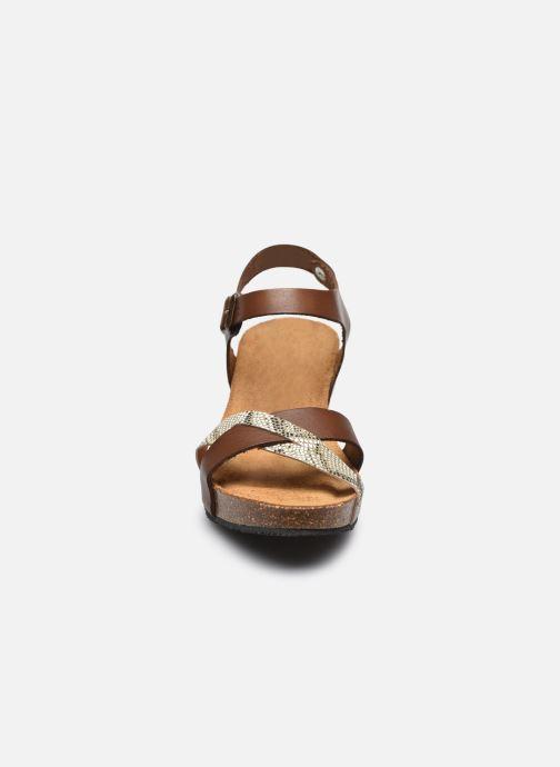 Sandalen Plakton Brandy gold/bronze schuhe getragen