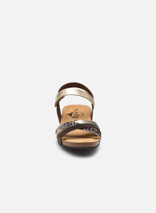 Sandalen Plakton Note silber schuhe getragen