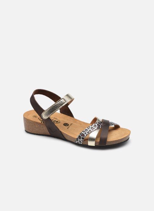 Sandales et nu-pieds Plakton Note Argent vue détail/paire