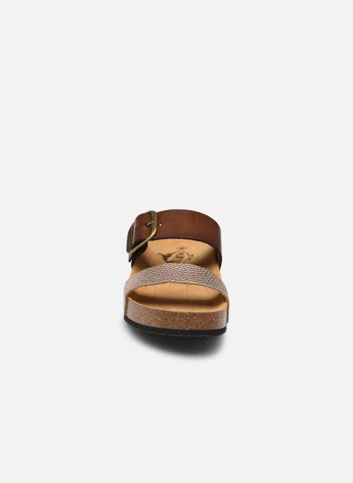 Clogs & Pantoletten Plakton Cp Rock braun schuhe getragen