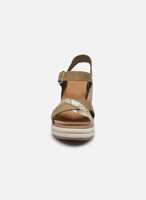 Sandalen Plakton Plantio grün schuhe getragen