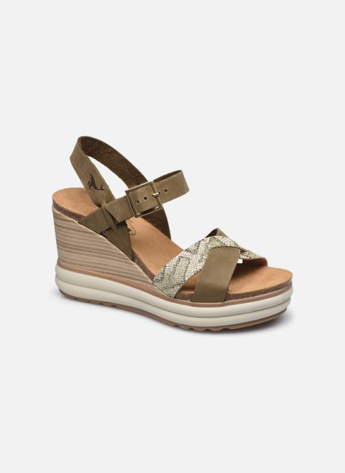 Sandales et nu-pieds Plakton Plantio Vert vue détail/paire