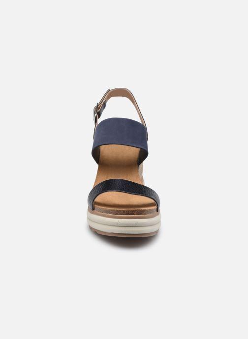 Sandalen Plakton Plaka braun schuhe getragen