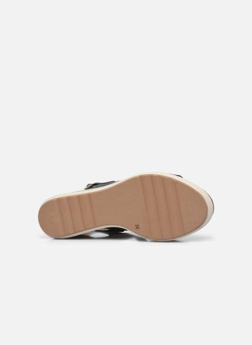 Sandalen Plakton Plaka braun ansicht von oben