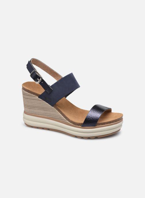 Sandales et nu-pieds Plakton Plaka Marron vue détail/paire