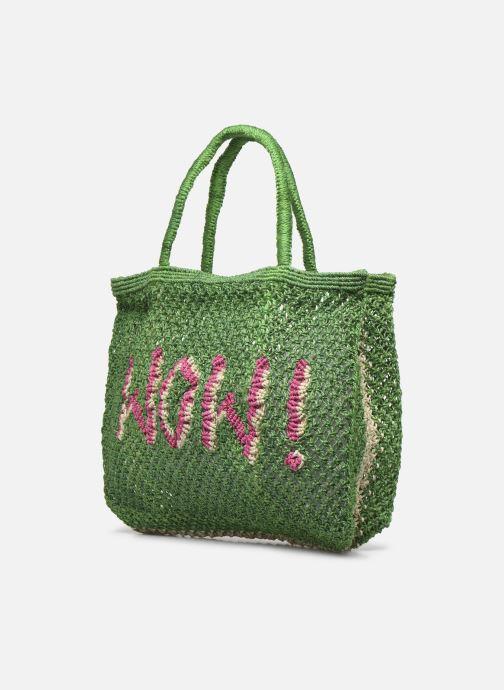 Handtaschen The Jacksons Wow - Small grün ansicht von rechts